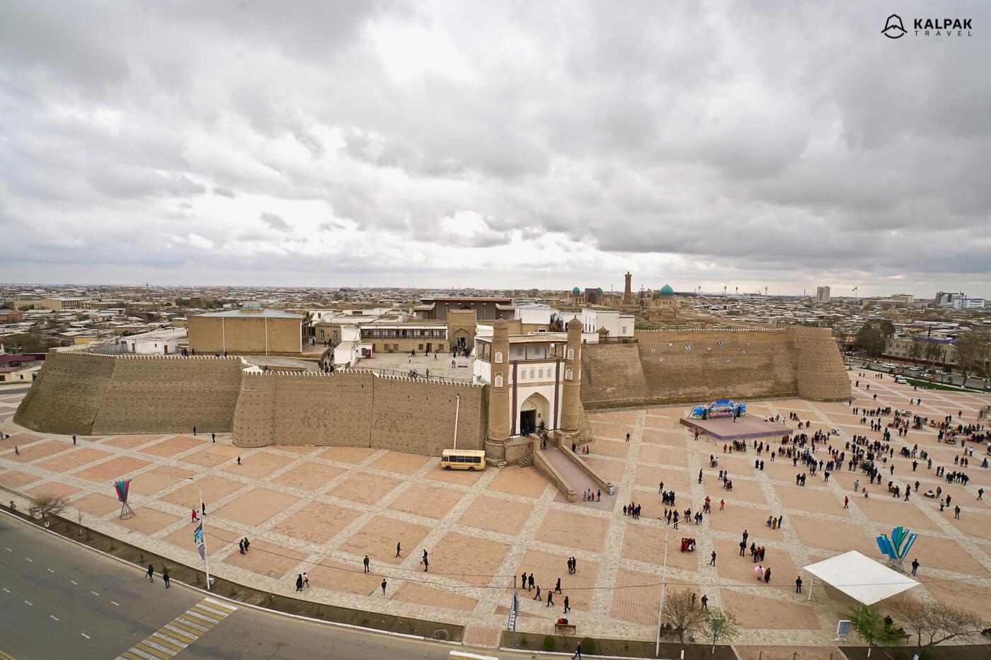 Bukhara ark citadel
