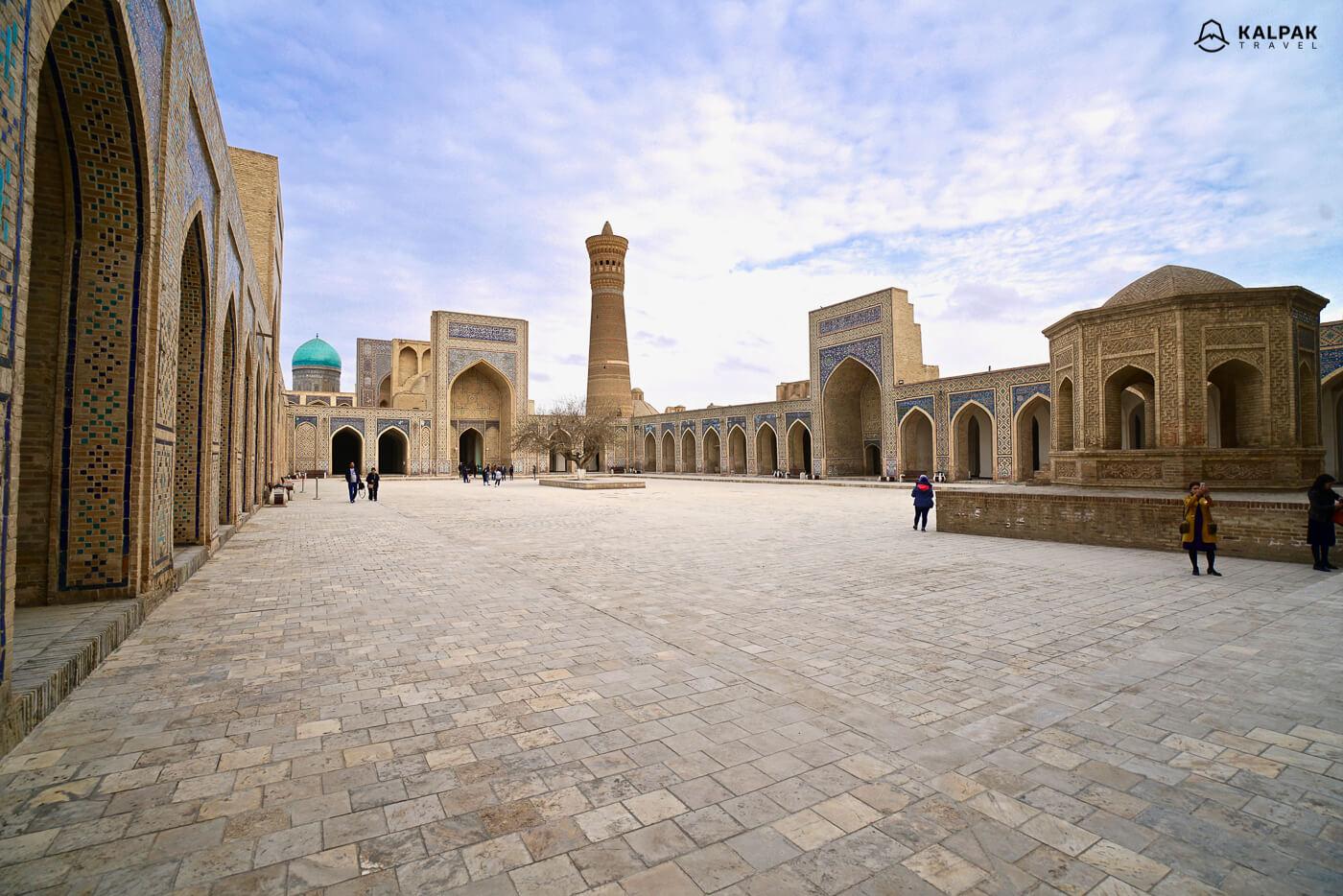 Bukhara city center