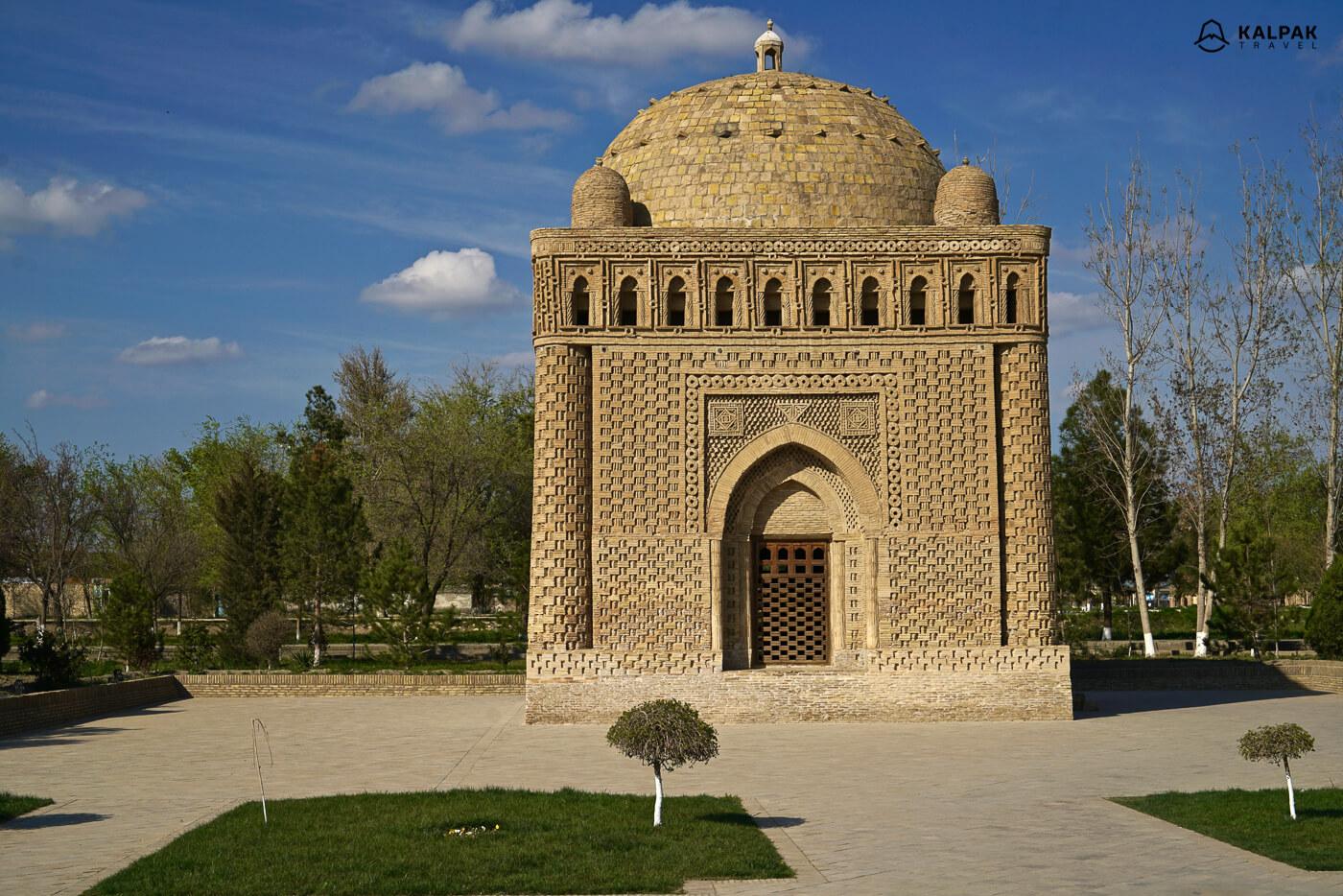 Samanid mausoleum in Samarkand