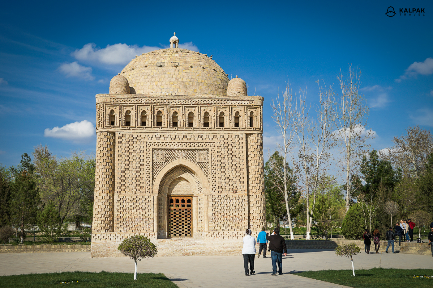 Samani Mausoleum in Bukhara is one of the oldest mausoleums
