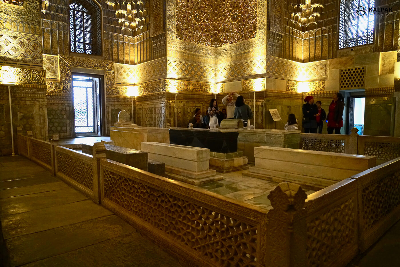 Gur emir mausoleum in Samarkand