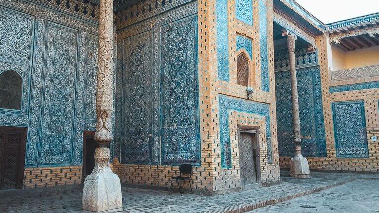 Tash-Khauli palace in Khiva