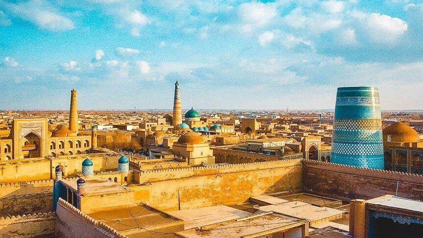 Kunya Ark in Khiva