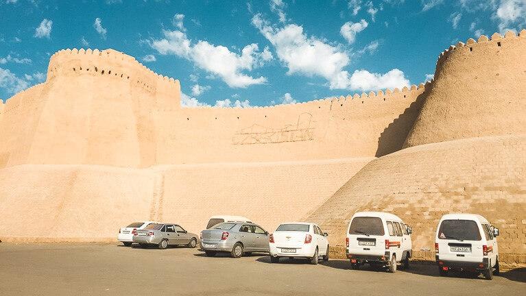 Khiva in Uzbekistan, Central Asia
