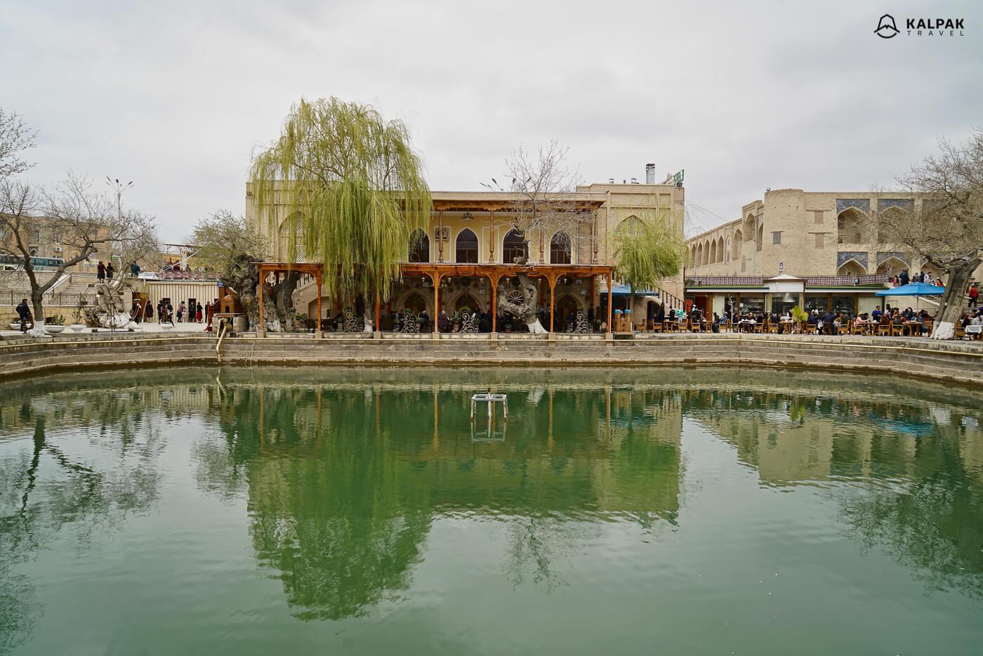 Lyabi Khaus in Bukhara