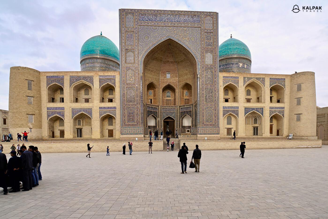 Mir-i-arab madrasah in Bukhara