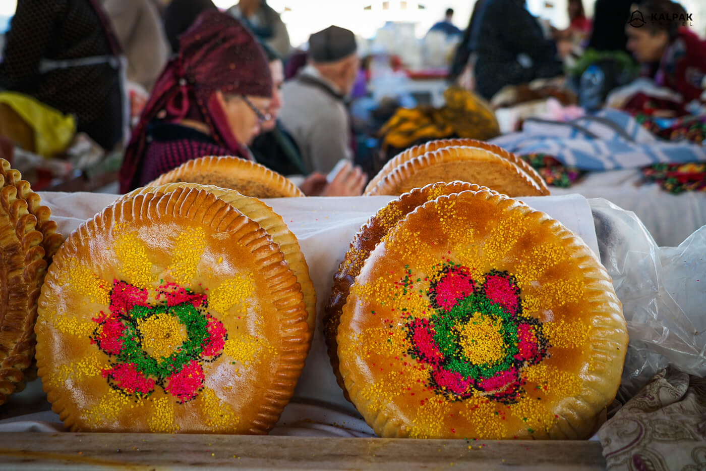 Samarkand traditional bread