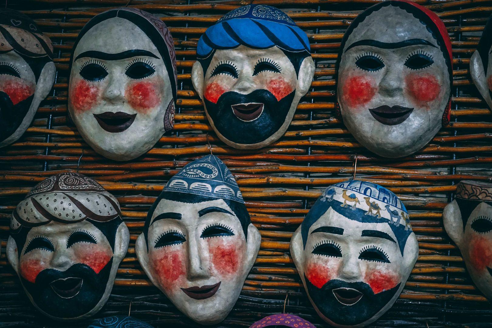 Samarkand paper masque
