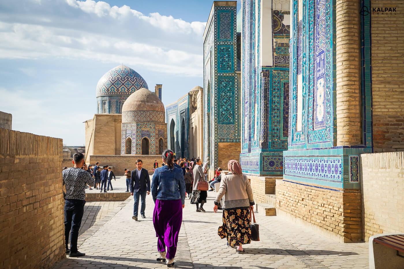 Shahi Zinda necropolis in Samarkand