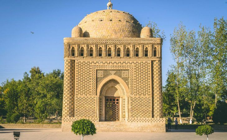 the earliest, the most ancient building in Central Asia