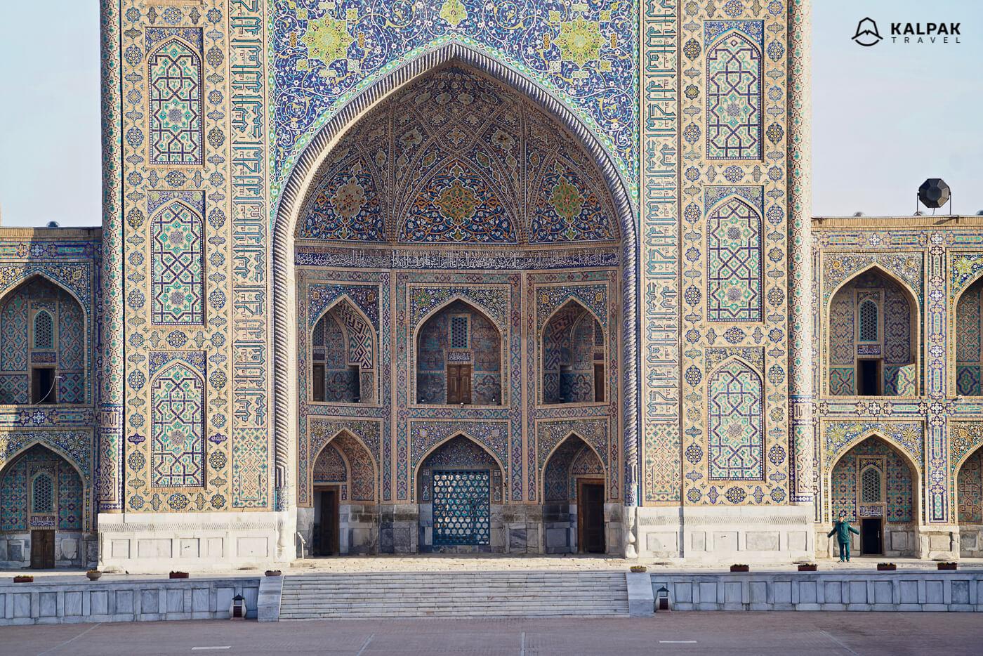 Tillya Kori in Registan, the central building