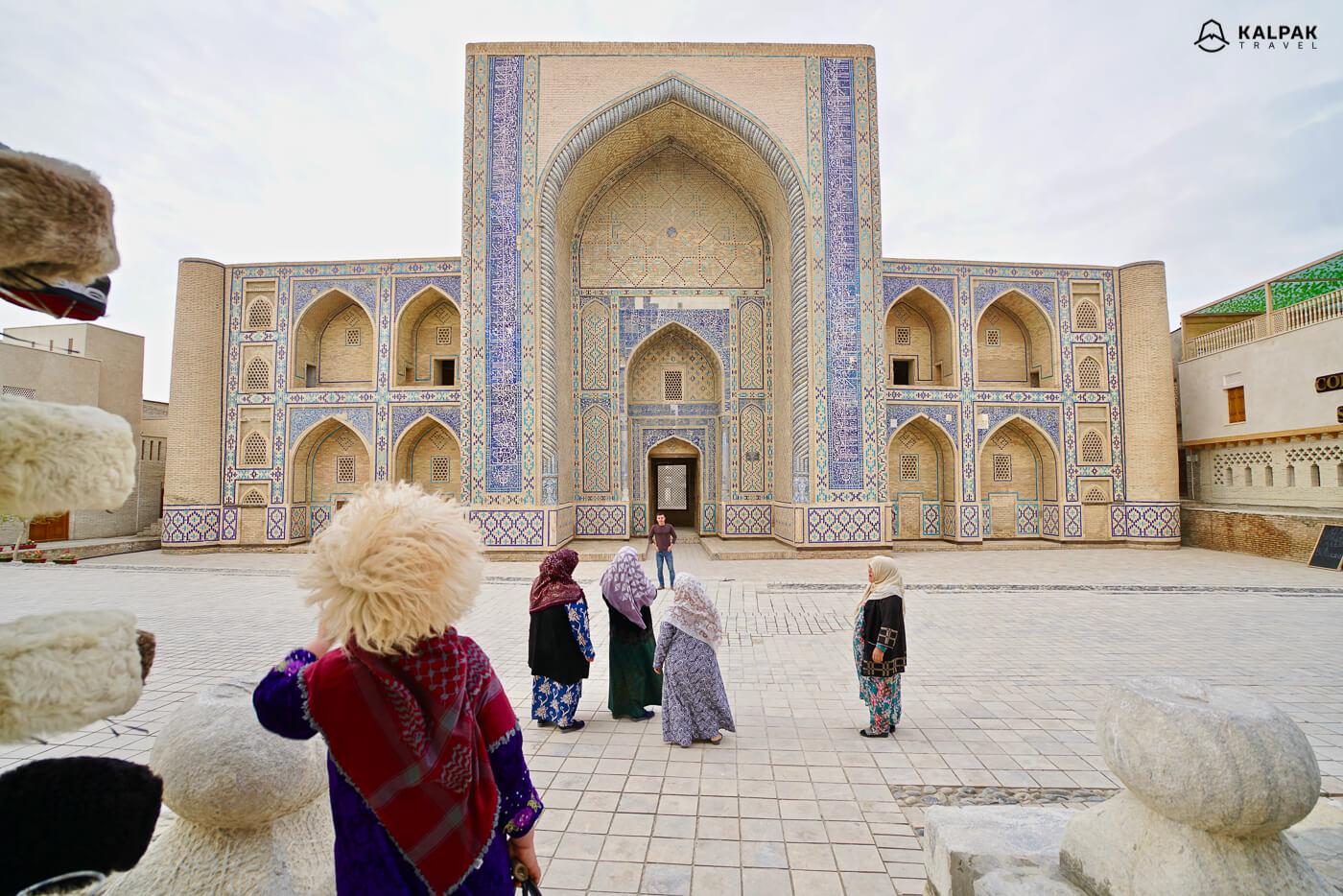 Ulughbek Madrasah in Bukhara