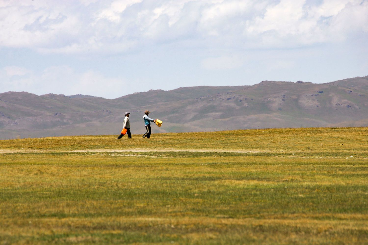 Song Kul, people Kyrgyzstan