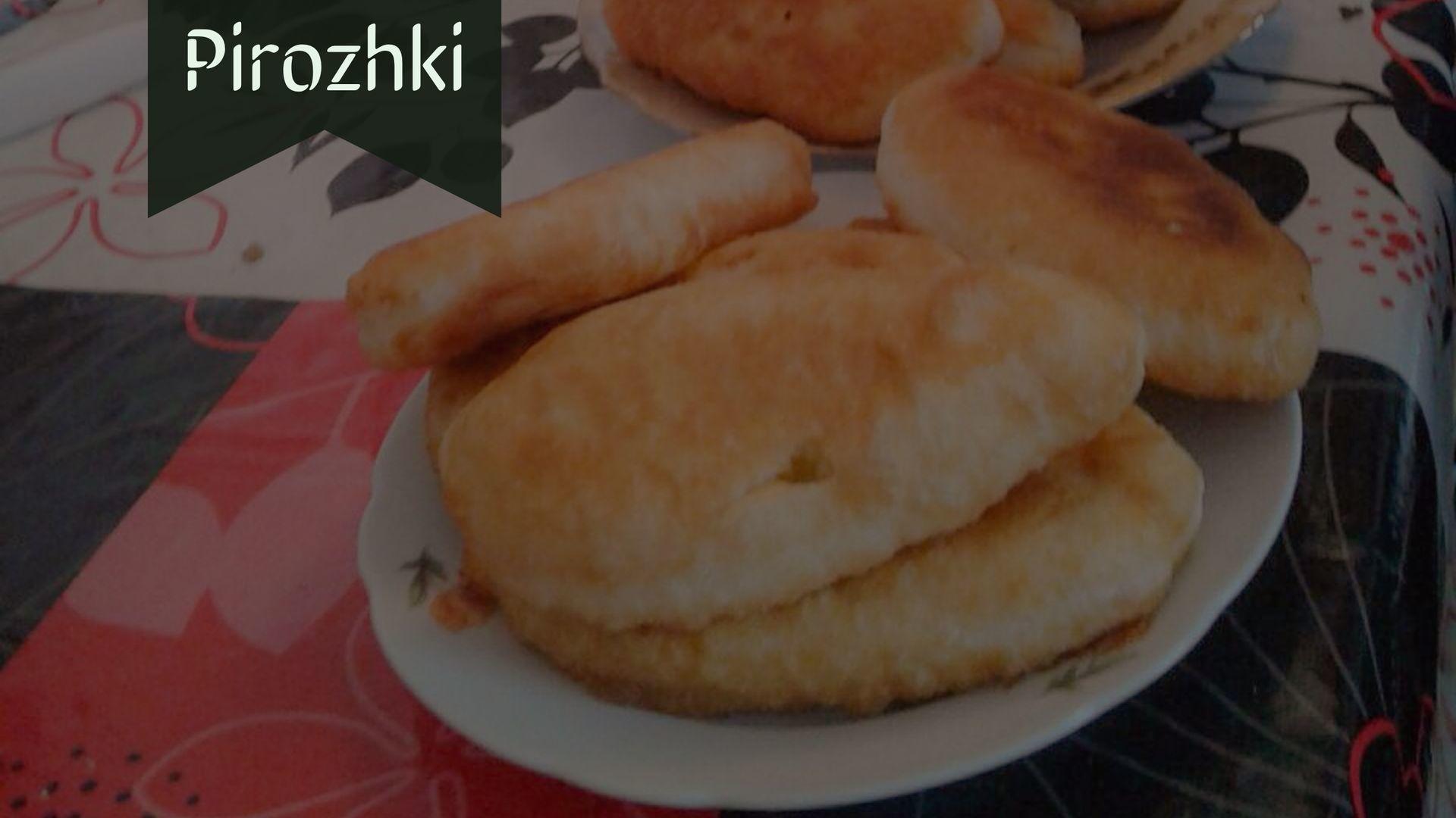 pirojki or pirozhki baked and fried apetizers