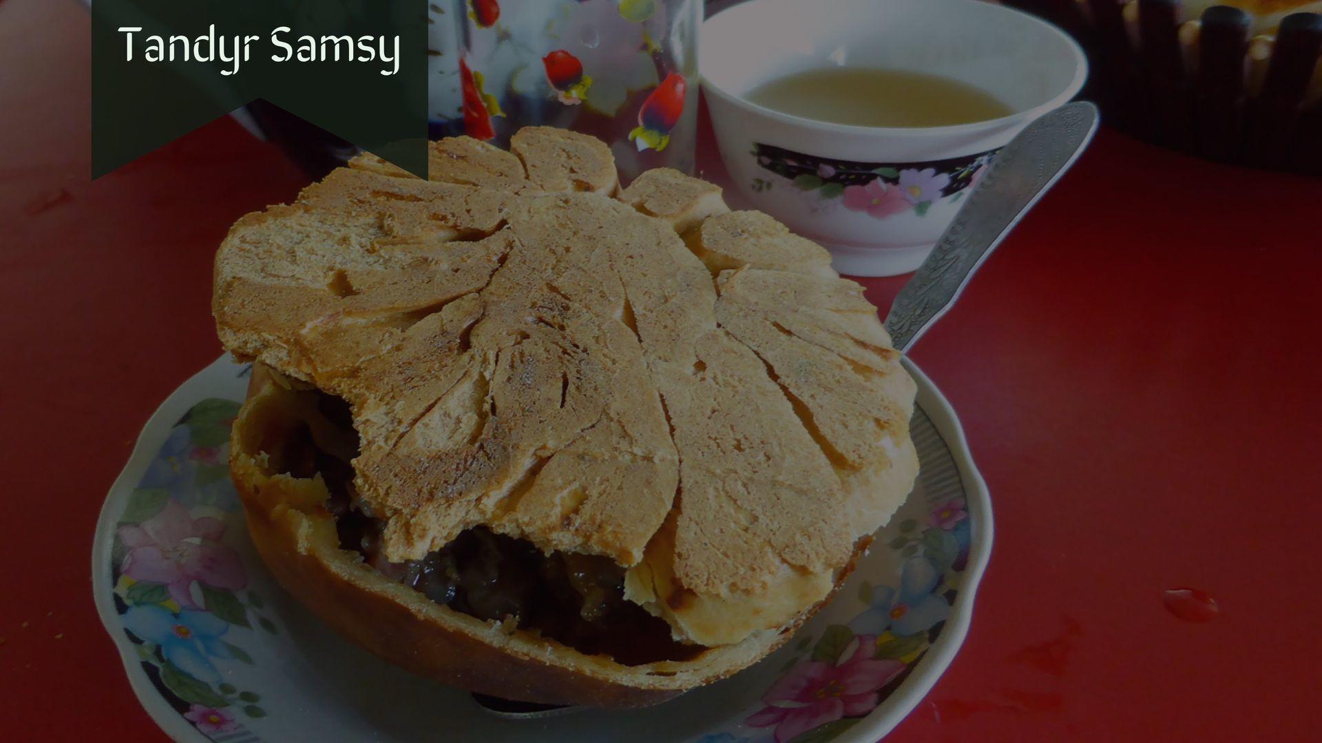 Tandyr Samsy in Osh, Central Asian Cuisine