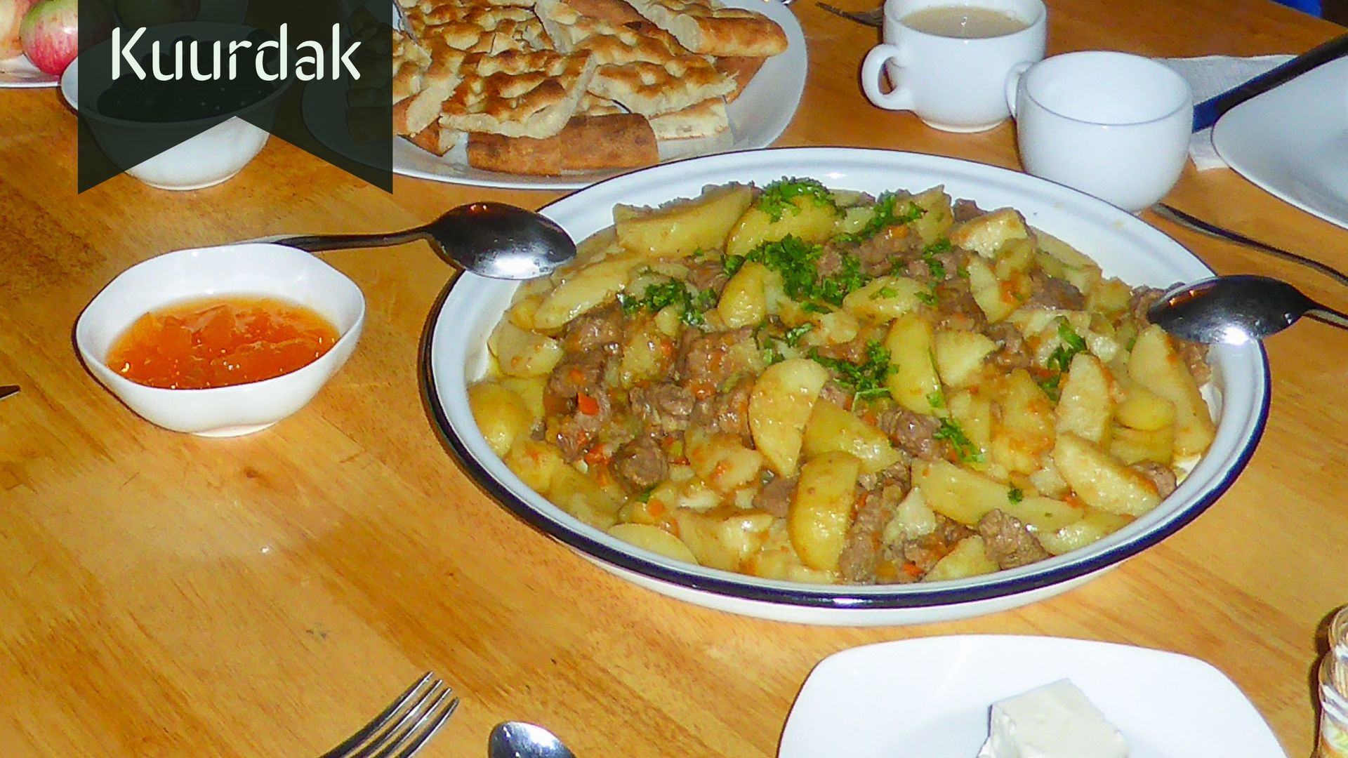 Kuurdak-Central Asian Dish