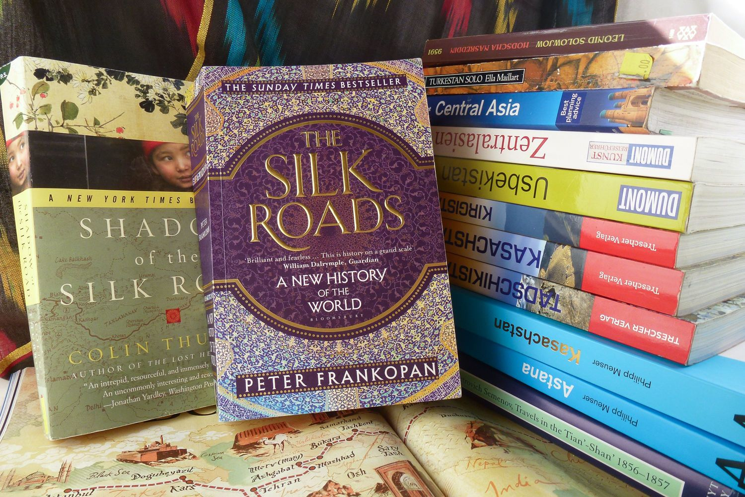 Silk Road Travel book recommendations