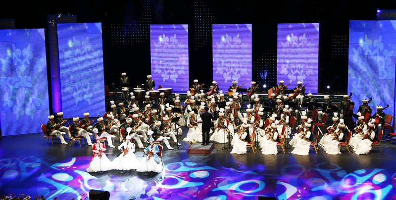 Opera and national concert in Astana during Expo 2017