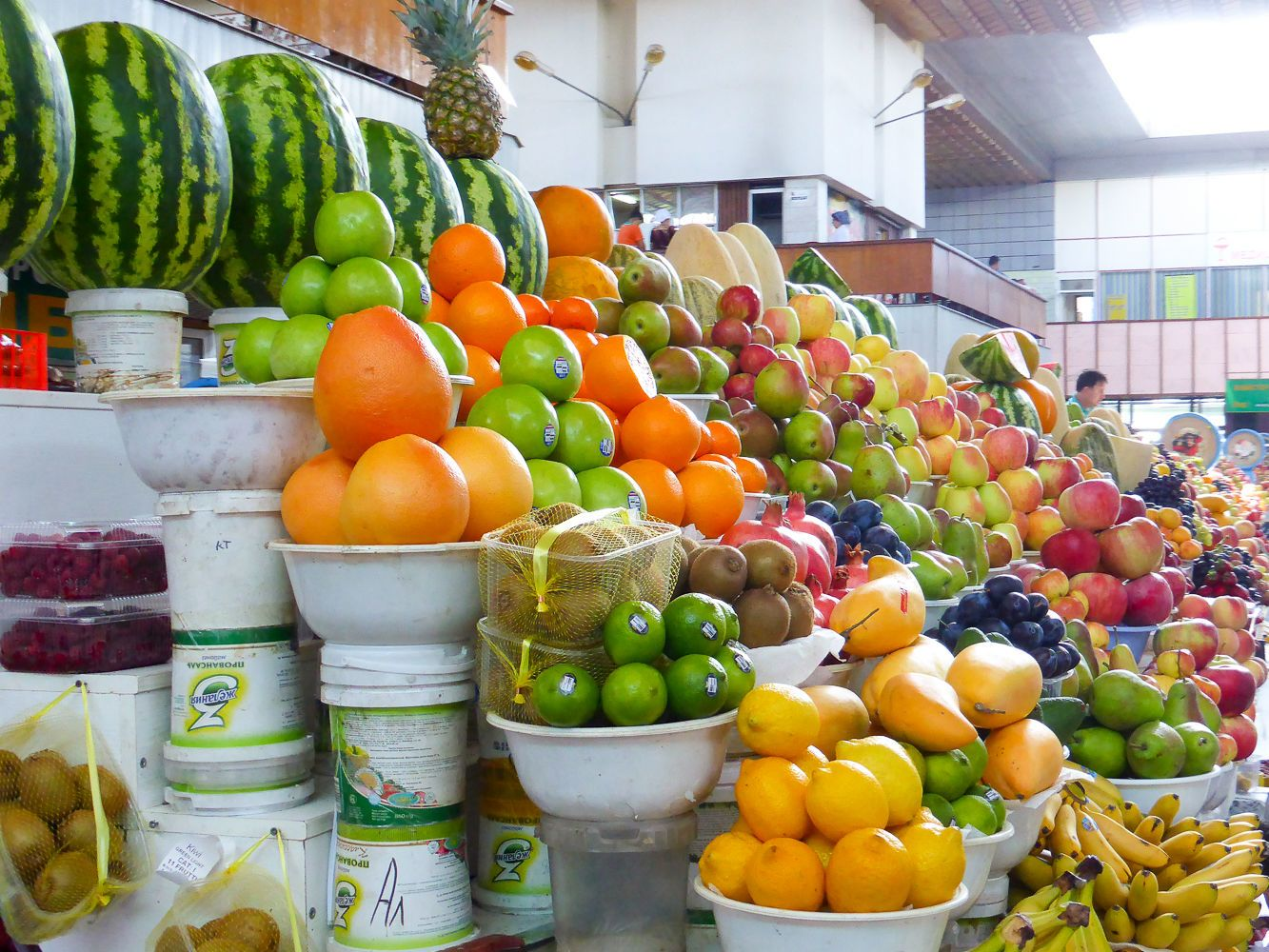 Fruits in Central Asian market