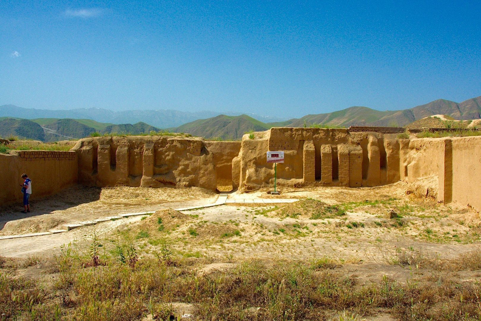 Turkmenistan UNESCO site, Nisa, Central Asia