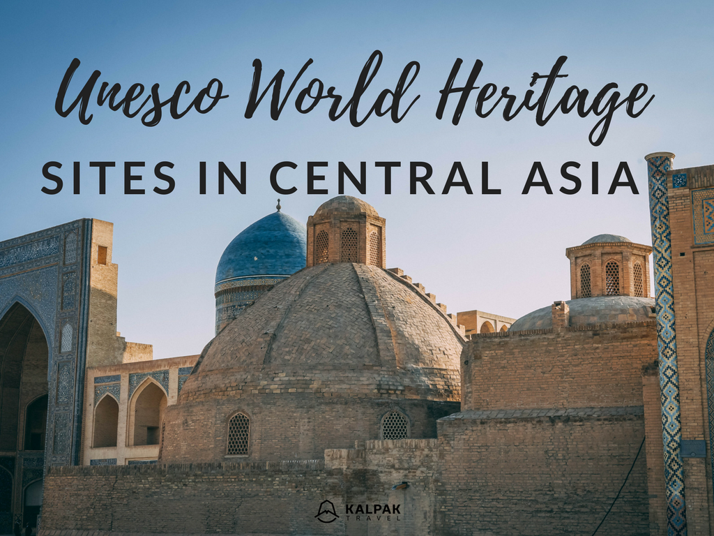 Central Asia UNESCO World Heritage Sites