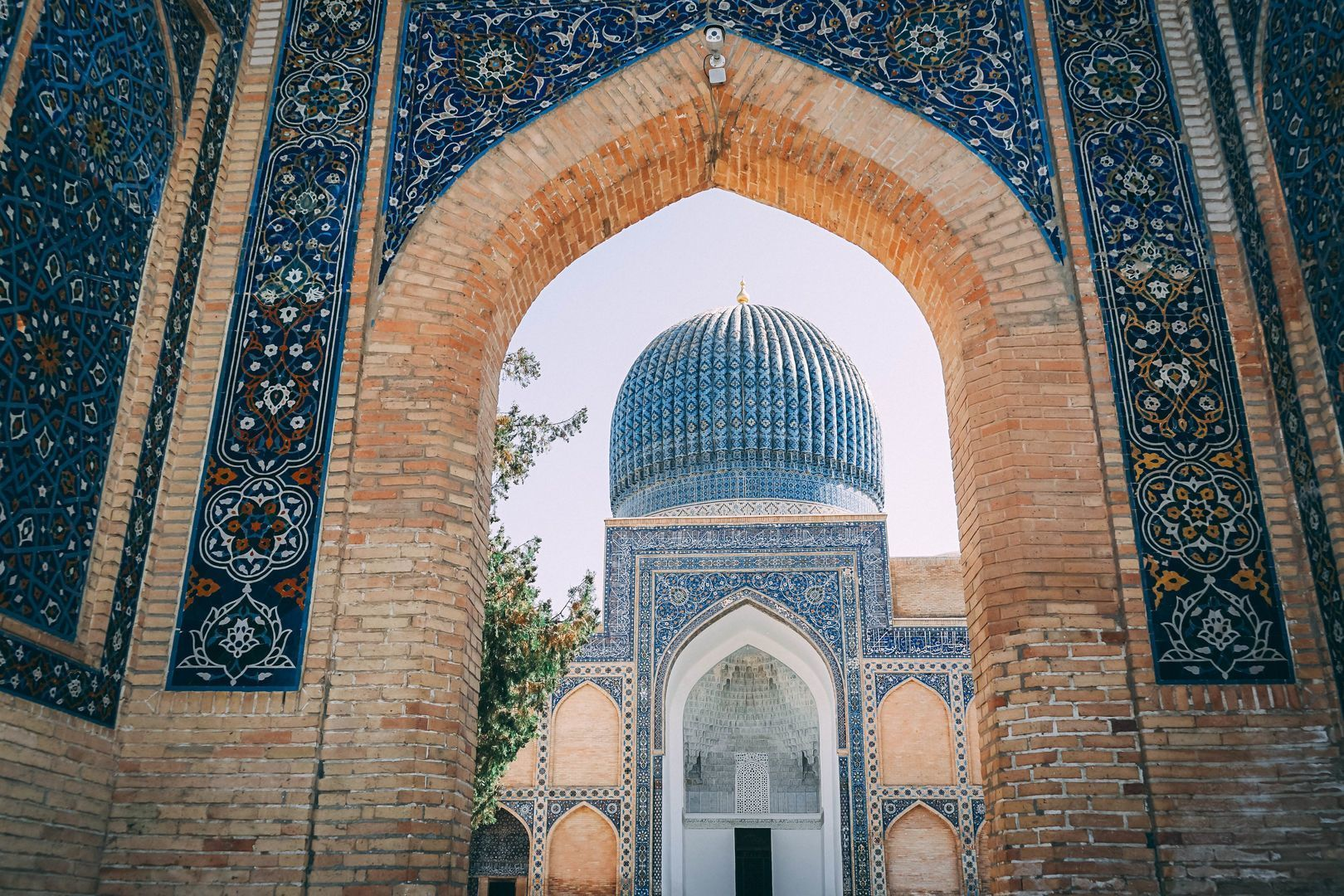 Central Asia historical cities tour
