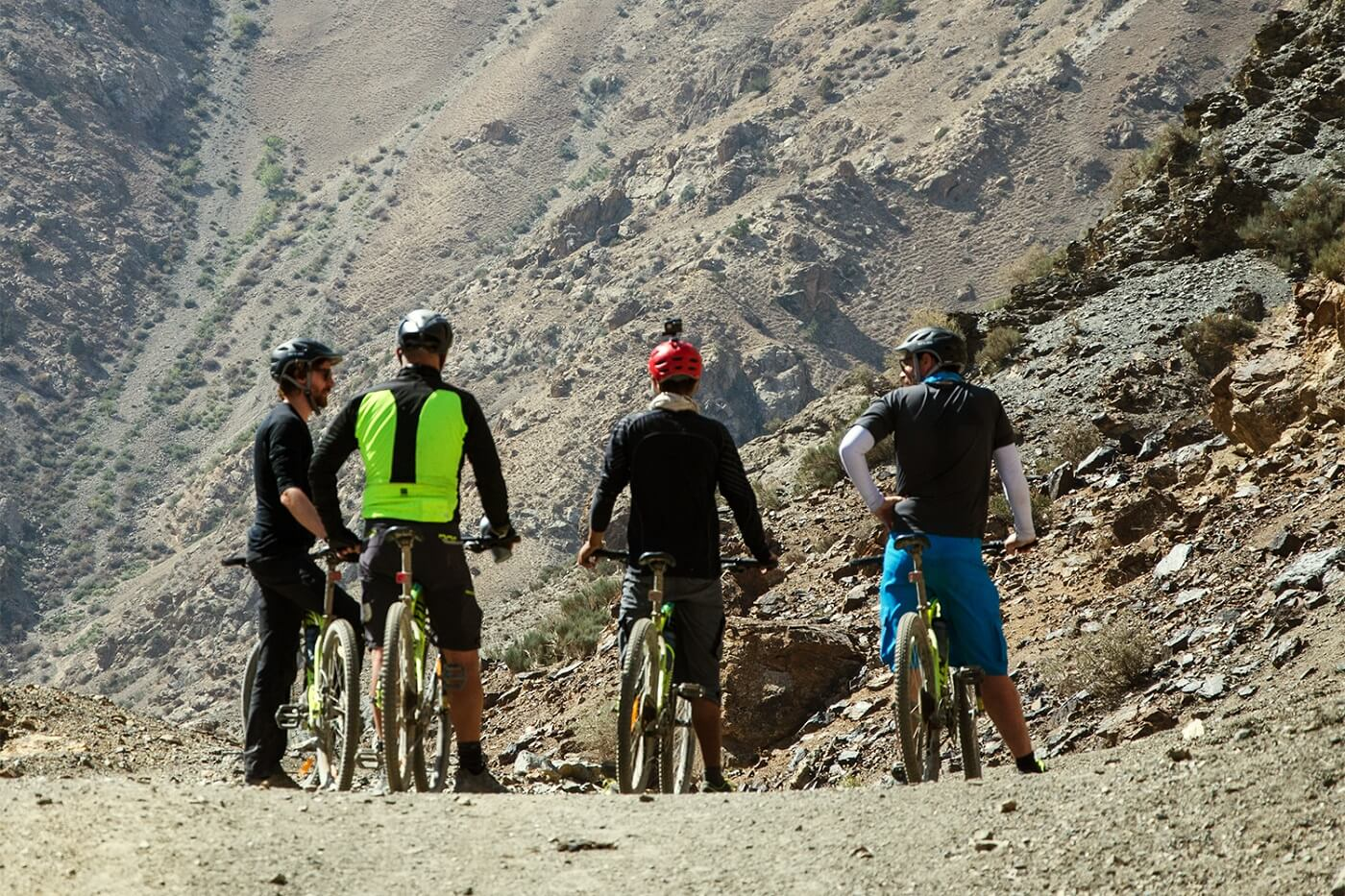 mountain biking in Tajikistan