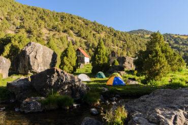 Vertical camp Tajikistan trekking