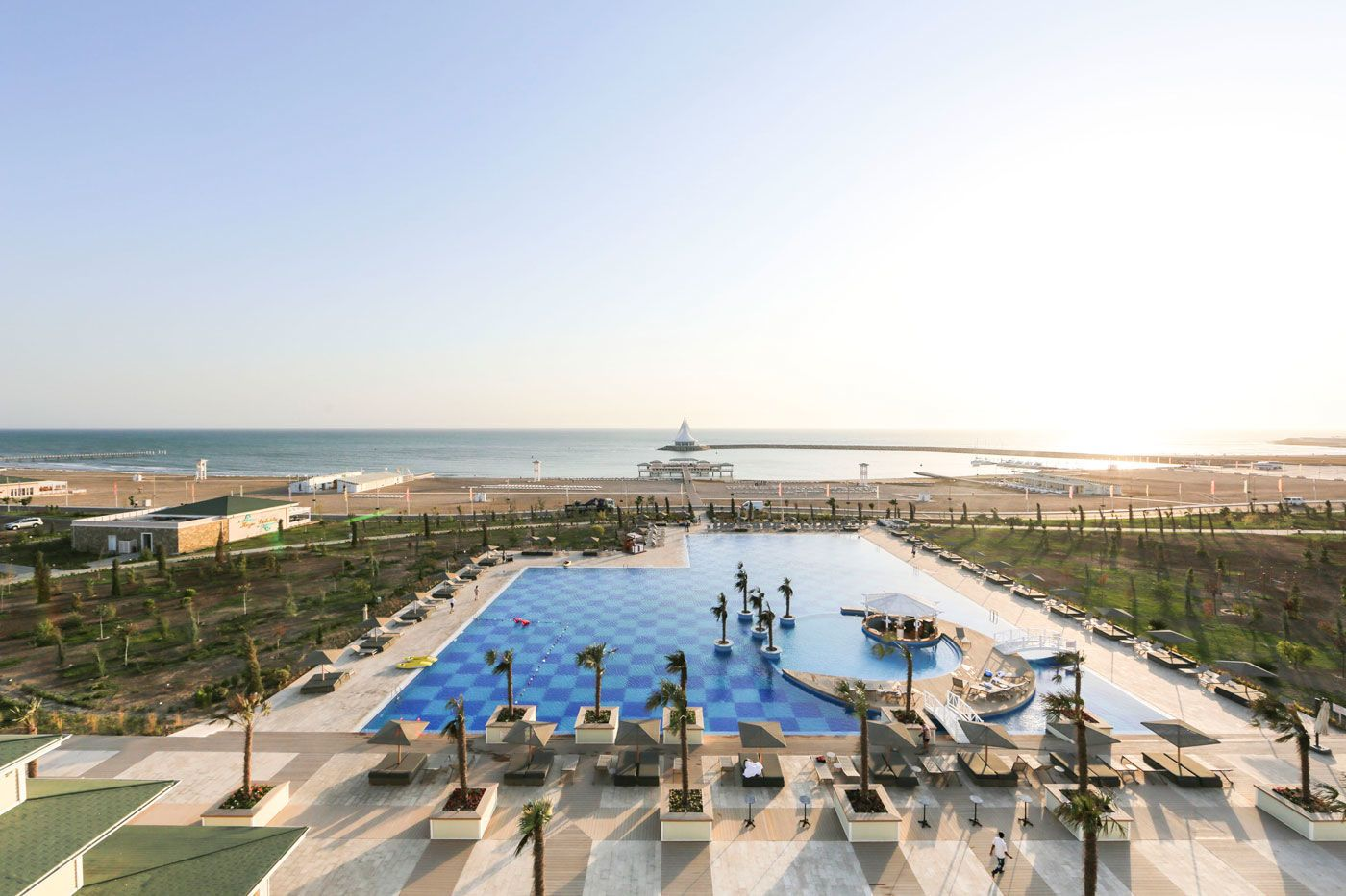 Turkmenistan Awaza Beach