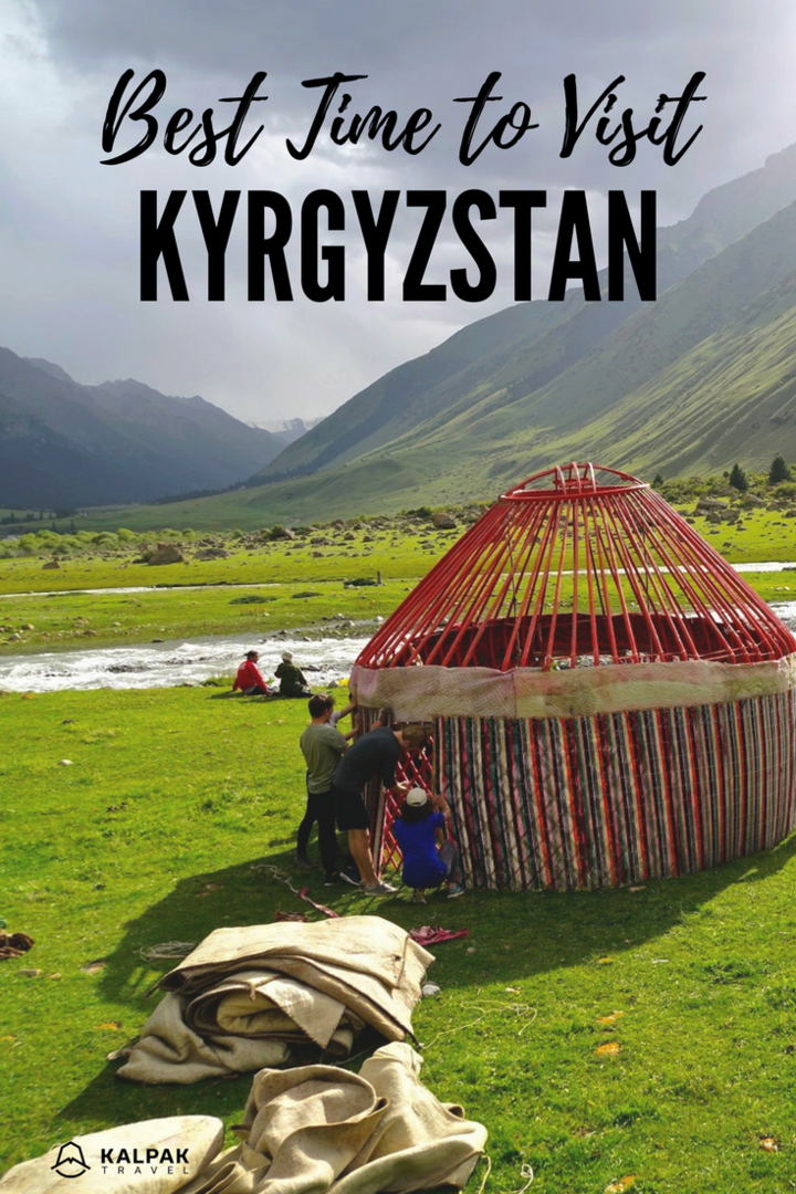 best time to visit Kyrgyzstan