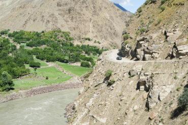 Pamir Highway Panj river