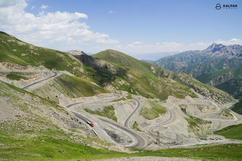 Pamir Highway Taldyk Pass