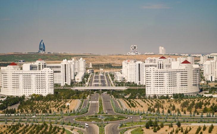 Ashgabat in Turkmenistan