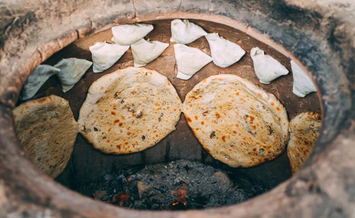 traditional bread in Turkmenistan