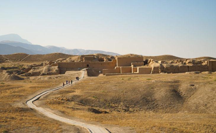 Old Nisa in Turkmenistan