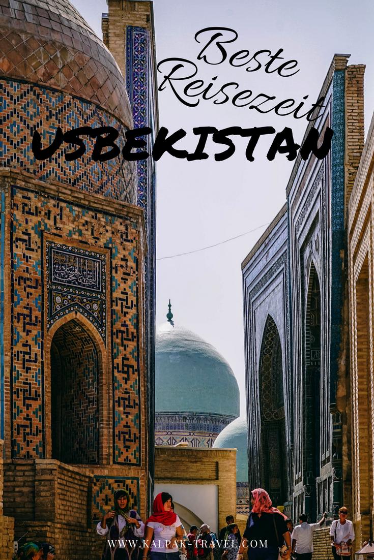 Beste Reisezeit Usbekistan, Städte Seidenstrasse