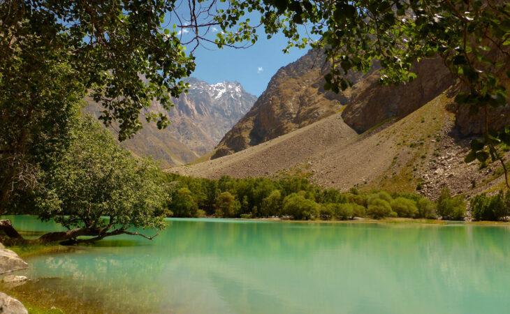 Jisev Valley hiking in Pamirs