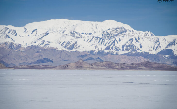 Karakul lake on Pamir Highway