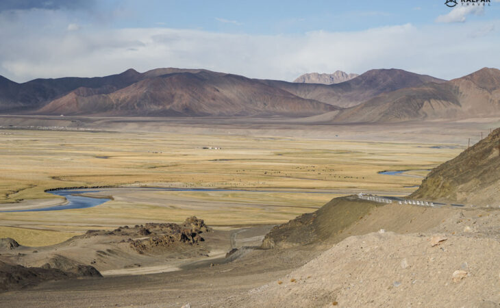 Pamir Highway Landscape