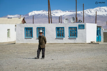 Murghab man in Kalpak on Pamir