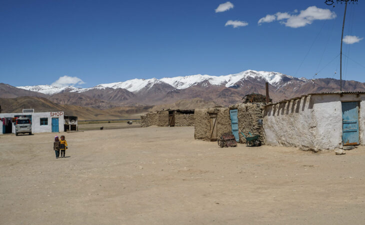 Coldest village in Pamirs is Bulunkul