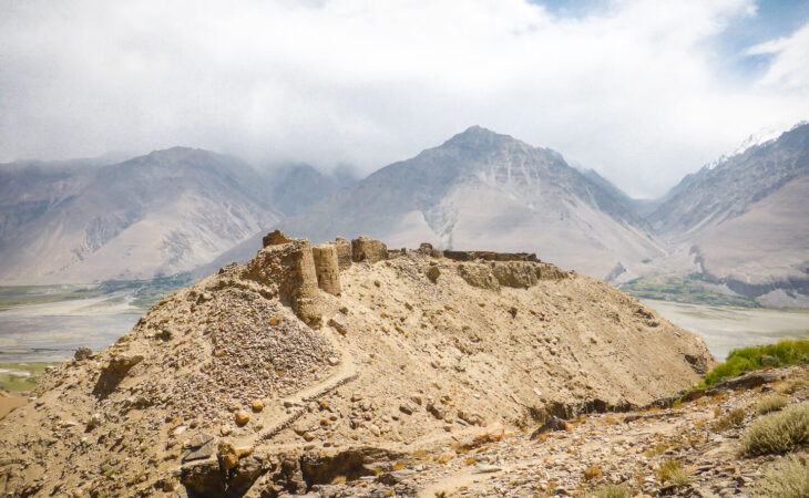 Yamchun fortress in Pamir Highway
