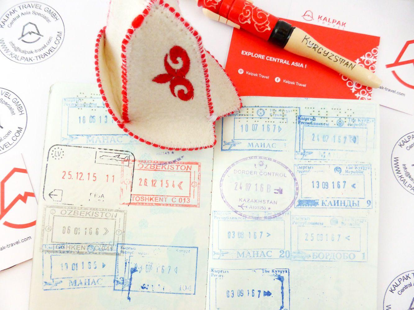 Visa-Guide für Zentralasien: Kirgisistan, Kasachstan, Tadschikistan, Turkmenistan, Usbekistan