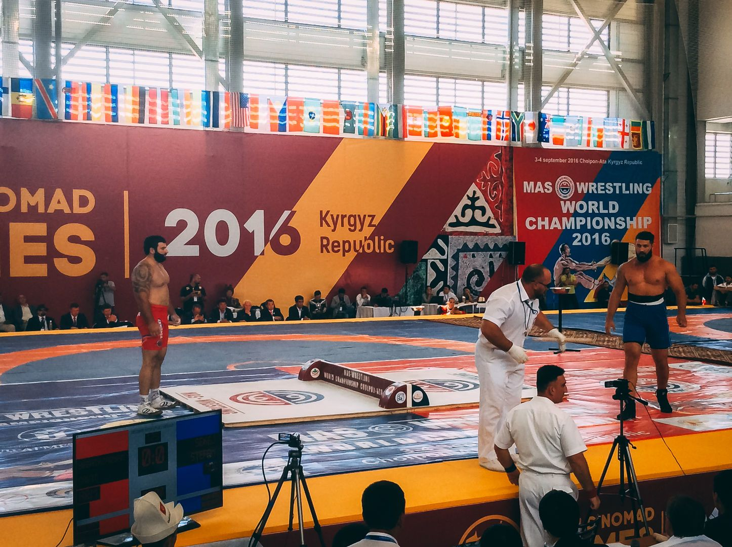 World Nomad Games wrestling