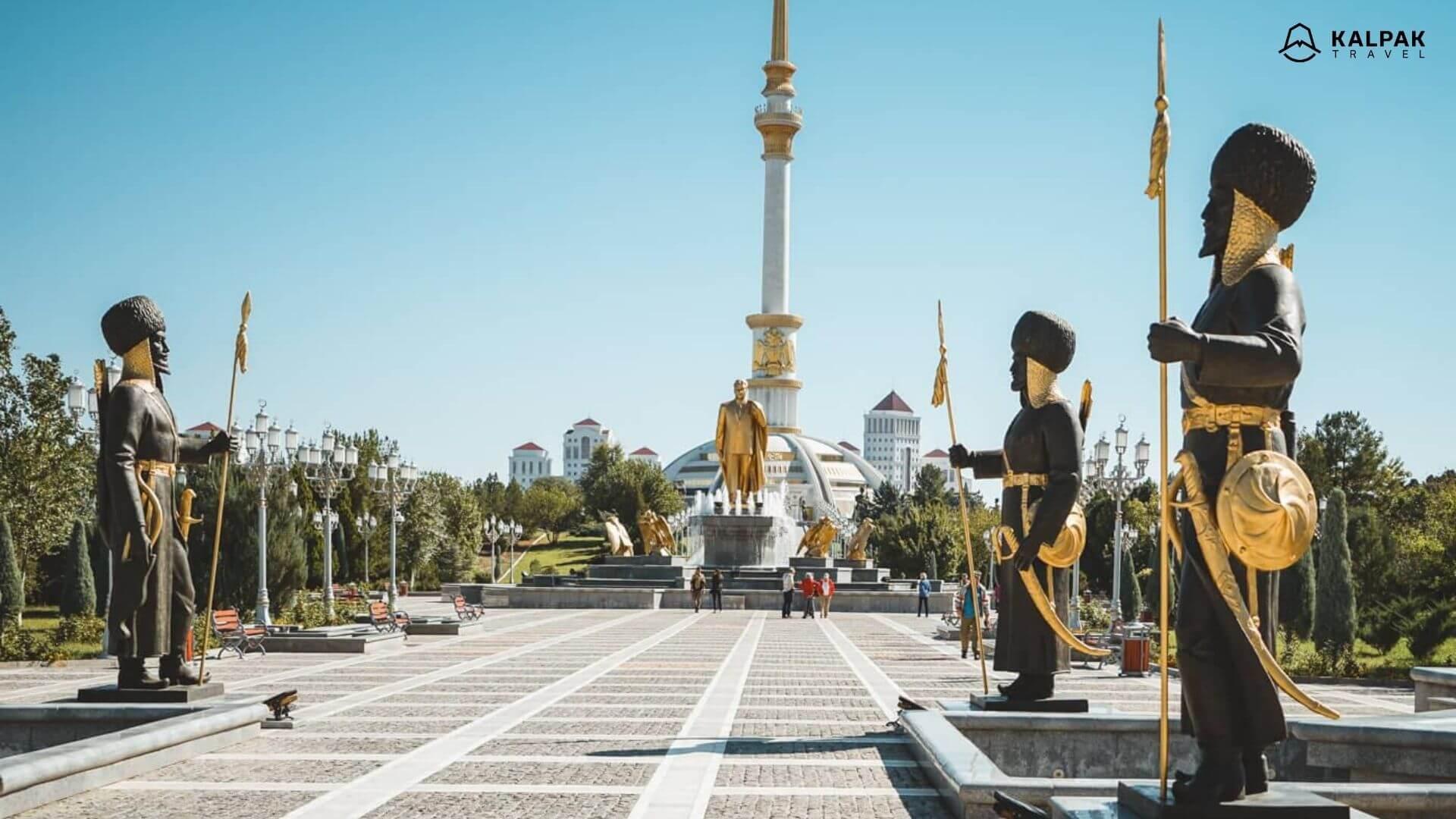 Zentralasien Aschgabat Turkmenistan