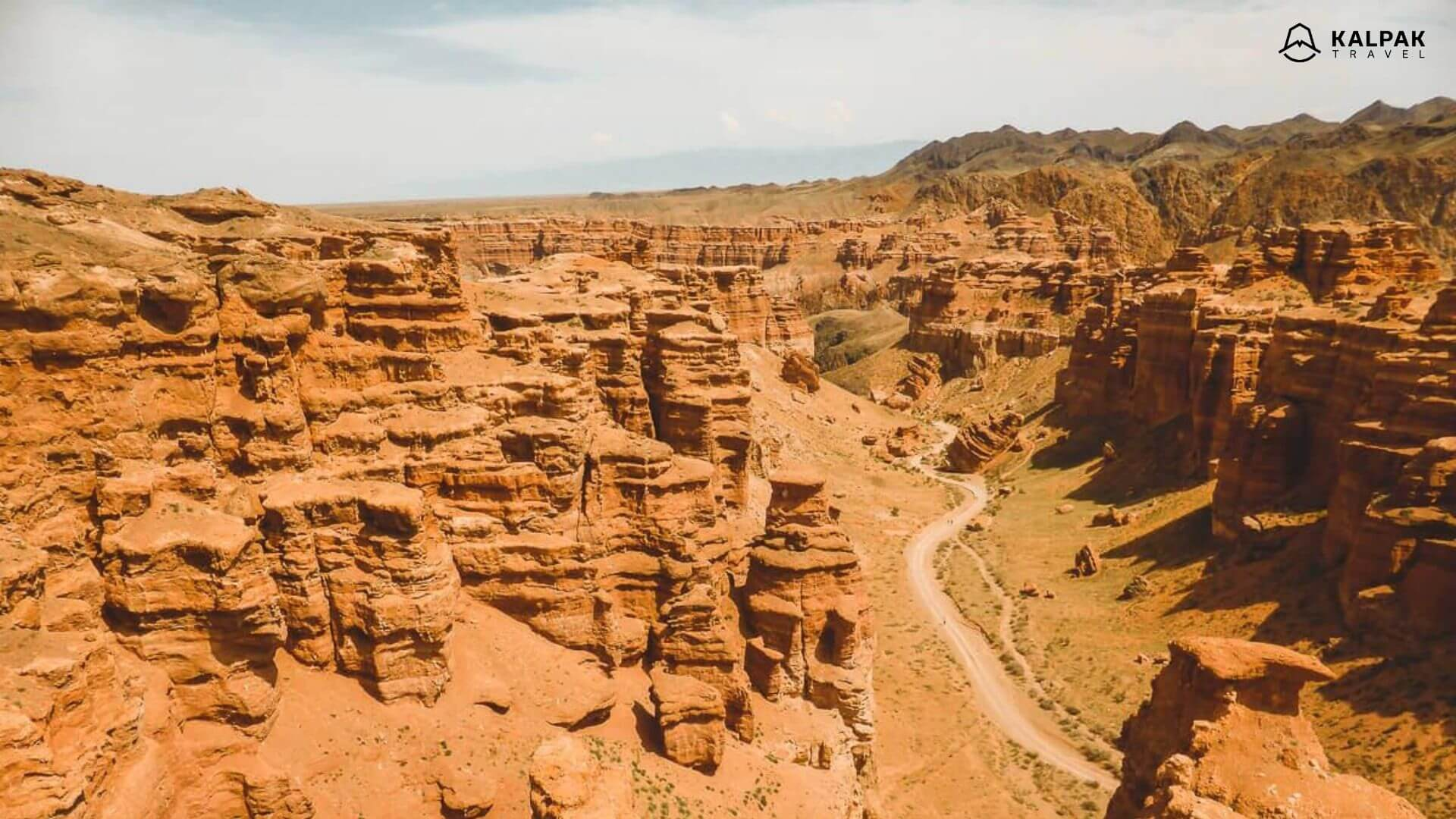 Charyn canyon in Kasachstan, Zentralasien
