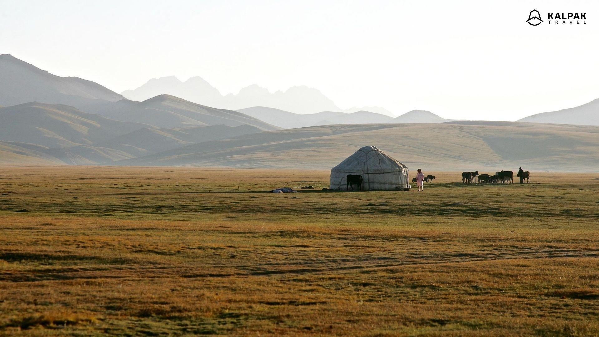 Zentralasien Sehenswürdigkeiten in Kirgisistan ist Song Kul