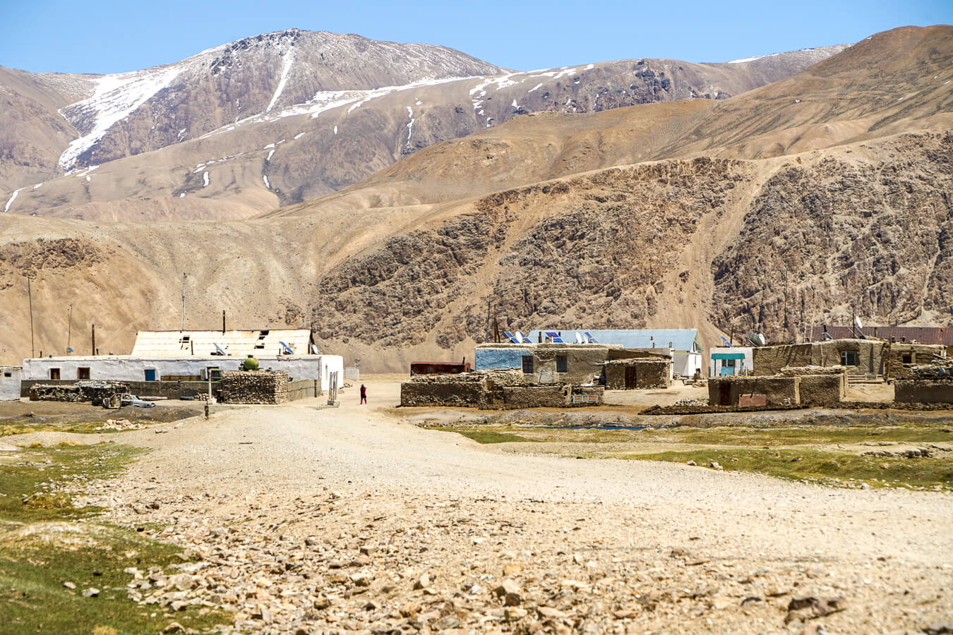 Bulunkul village on Pamir Highway