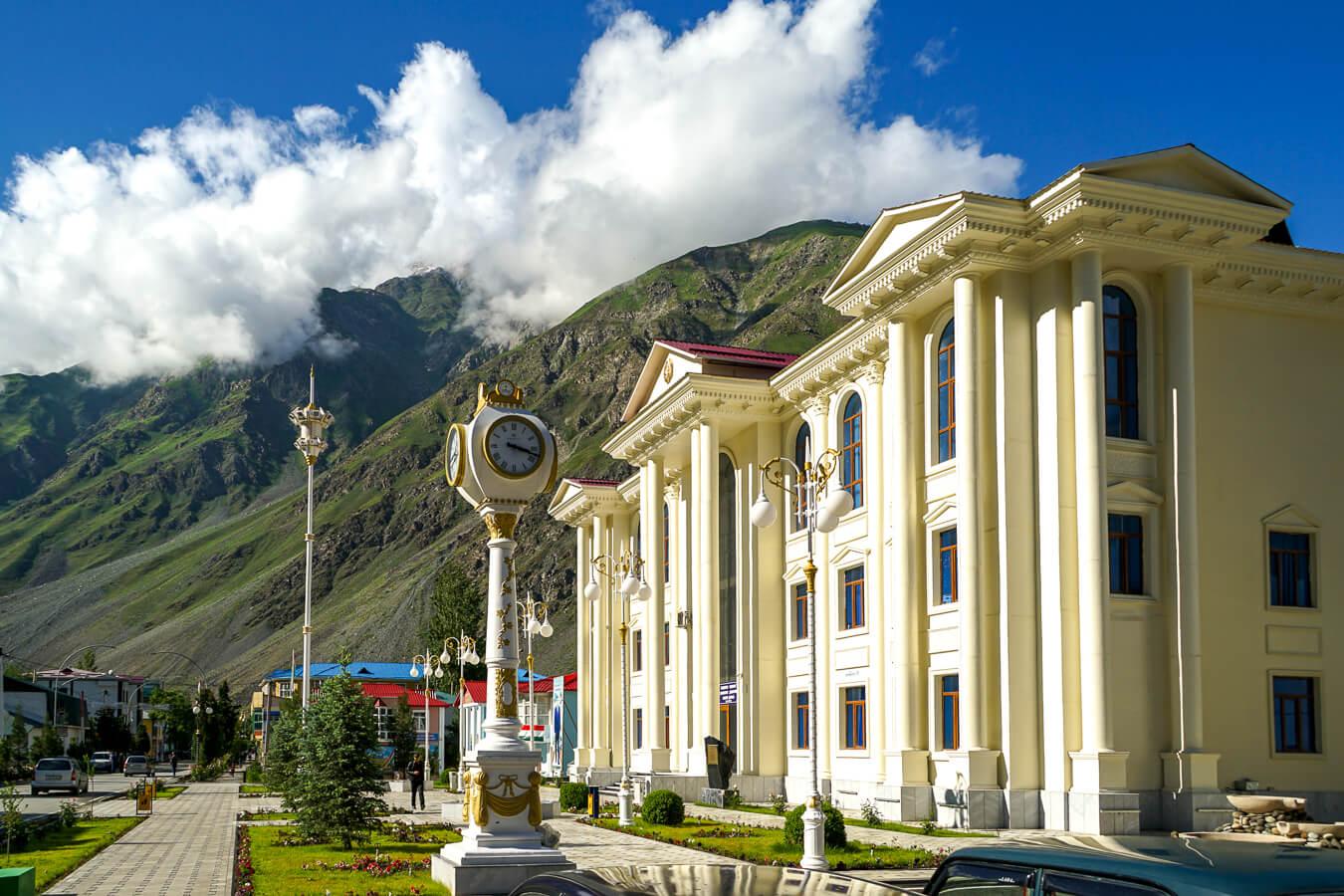 Kalai khum in Tajikistan