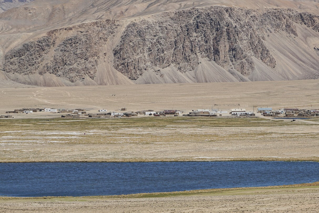 Pamir Highway village Bulunkul